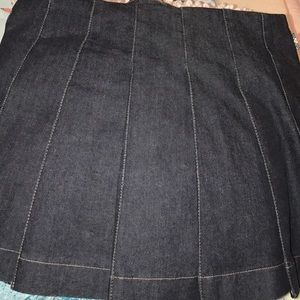 Burberry Skirts - 100% authentic Burberry belted denim skirt